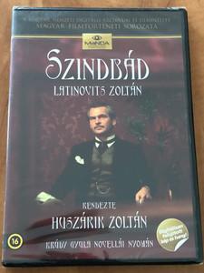 Szindbád (1971) DVD Krúdy Gyula Novellái Nyomán / Directed by Huszárik Zoltán / Written by Krúdy Gyula / Starring: Latinovits Zoltán, Ruttkai Éva, Dajka Margit / Hungarian Classic film (5999884681274)