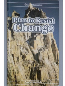 Plan to Resist Change - Bible Doctrine Booklet [Paperback]