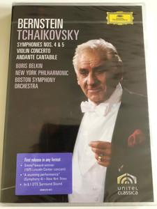 Bernstein - Tchaikovsky: Symphonies 4 & 5 / Directors: Humphrey Burton / DVD / Made in the EU (044007345115)