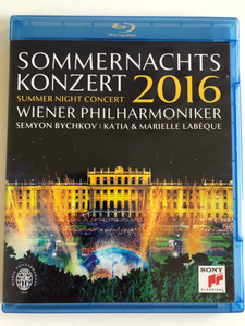 Sommernachtskonzert 2016 / Summer Night Concert 2016 / Blu-ray DVD / Sony Classical / Made in the EU (0889853135899)