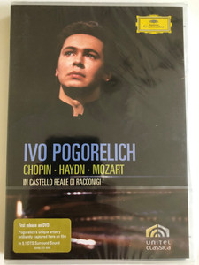 In Castello Reale di Racconigi / Ivo Pogorelich - Chopin - Haydn - Mozart / Unitel Classica / DVD / Made in the EU (044007340462)