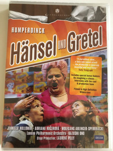 Hänsel und Gretel: Opera in 3 acts / Music: Engelbert Humperdinck / Libretto: Adelheid Wette / Inspired by a story by the Brothers Grimm / DVD / Made in the EU (044007433614)