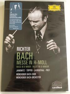 Bach: H-moll-messe / Karl Richter / DVD / Made in the EU (0044007341483)