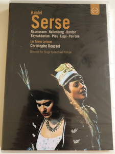Handel - Serse / Rasmussen, Piau, Bayrakdarian, Bardon, Hallenberg, Peirone, Lippi, Rousset, Les Talens Lyriques, Dresden Opera / DVD / Made in the EU (0880242537980)