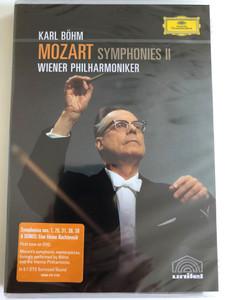 Mozart: Symphonies, Vol. 2 / Nos. 1,25,31,36,38 / DVD / Made in the EU (044007341322)