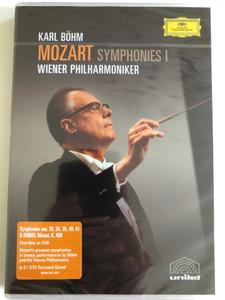 Mozart: Symphonies Vol. I / Nos. 29,34,35,40,41 and Minuet K.409 / DVD / Made in the EU (044007341315)