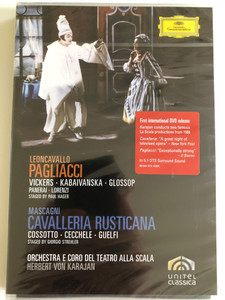 Leoncavallo: Pagliacci / Mascagni: Cavalleria Rusticana/ DVD / Made in the EU (0044007343890)
