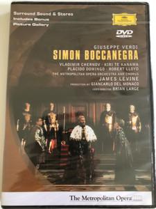 Verdi - Simon Boccanegra / Levine, Te Kanawa, Metropolitan Opera / DVD / Made in the EU (0044007303191)