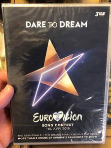 Dare to Dream 3DVD Eurovision Song Contest Tel Aviv 2019 / The Semi-Finals - The Grand Final + Bonus / More than 8 Hours of Europe's favourite TV show / UNI 7751454 (602577514548)