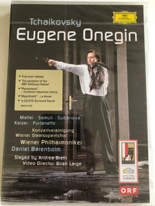 Tchaikovsky: Eugene Onegin / Director: Thomas Lang / Actors: Ryland Davies & Ferruccio Furlanetto / 2 DVDs / Made in the EU (0044007344347)