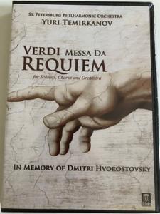 Verdi: Messa Da Requiem - In Memory of Dmitri Hvorostovsky / DVD / Made in the EU (0013491701233)