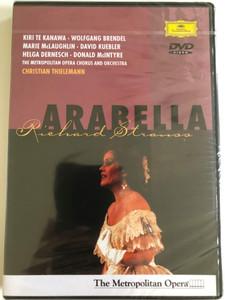 Richard Strauss - Arabella / Thielemann, Te Kanawa, Brendel, Metropolitan Opera / DVD / Made in the EU (044007300596)Richard Strauss - Arabella / Thielemann, Te Kanawa, Brendel, Metropolitan Opera / DVD / Made in the EU (044007300596)