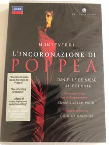 Claudio Monteverdi: L'incoronazione di Poppea / DVD / Made in the EU (044007433393)