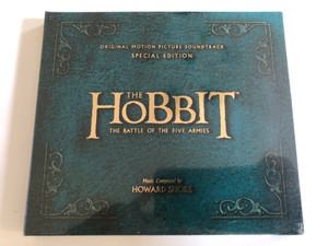 The Hobbit: The Battle of the Five Armies / Motion Picture Soundtrack / Composed By: Howard Shore / 2 CD / Special Edition / Made in the EU (602547104946)