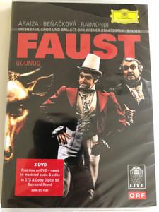 Gounod: Faust - Vienna State Opera / Binder 2 DVDs 2006 / Made in the EU (0044007341087)