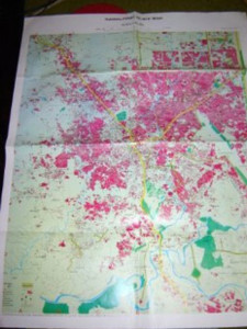 Rawalpindi Guide Map / Scale 1:20,000 / Detailed Street Map / Printed in Paki...