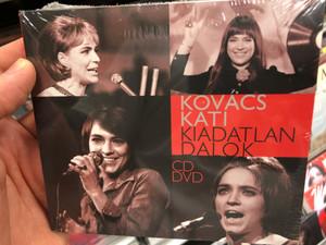Kovács Kati – Kiadatlan Dalok / MTVA Audio CD + DVD / MTVA 1253