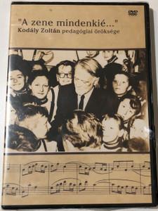 """""""A zene mindenkie..."""" Kodaly Zoltan pedagogiai oroksege DVD 127 minutes / Kodály-módszer (Kodály-módszerDVD)"""