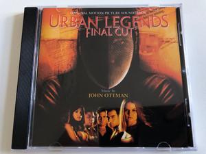 Urban Legends-Final Cut (Original Motion Picture Soundtrack) - Music by John Ottman / Varèse Sarabande Audio CD 2000 / VSD-6179