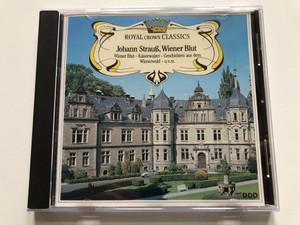 Royal Crown Classics / Johann Strauss: Wiener Blut, Kaiserwalzer, G'schicten Aus Dem Wienerwald, u.v.m. / Pilz Audio CD 1988 / CD 65019