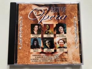 Best Of Opera Sopranos / Montserrat Caballé, Maria Callas, Victoria De Los Angeles, Martina Arroyo, Ghena Dimitrova, Renata Scotto / Semiramide, Il Pirata, Rigoletto, Tosca, Il Barbiere Di Siviglia, La Traviata / Disky Audio CD 1995 / DC 862042