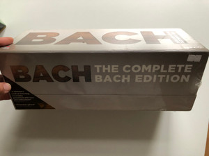 Bach – The Complete Bach Edition / Warner Classics 153 Audio CD + DVD CD 2012 / 2564 66420-2