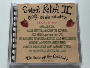 Sweet Relief II: Gravity Of The Situation (The Songs Of Vic Chesnutt) / Featuring: Garbage, R. E. M., Nanci Griffith and Hootie & The Blowfish, Soul Asylum, Dog's Eye View, Live, The Smashing Pumpkins And Red Red Meat / Columbia Audio CD 1996 / 484137 2