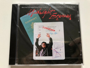 Midnight Express (Music From The Original Motion Picture Soundtrack) - Composed and Produced by Giorgio Moroder / Casablanca Audio CD / 824 206-2