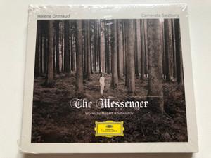 Hélène Grimaud – The Messenger / Works by Mozart & Silvestrov / Deutsche Grammophon Audio CD 2020 / 483 7853