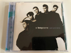 Boyzone – Said And Done / Polydor Audio CD 1995 / 527 801.2