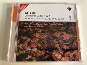 J. S. Bach - Orchestral Suites 3 & 4, Suite in G minor (attrib. W. F. Bach) / apex Audio CD 2004 / 2564 61686-2