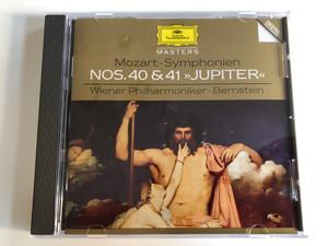 Mozart - Symphonien Nos. 40 & 41 >>Jupiter<< / Wiener Philharmoniker, Leonard Bernstein / Deutsche Grammophon Masters / Deutsche Grammophon Audio CD 1995 Stereo / 445 548-2