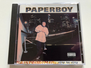 Paperboy – City To City / Roadrunner Records Audio CD 1996 / NP 5499.2