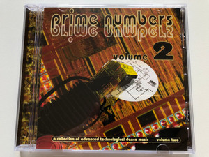 Prime Numbers Volume 2 / A Collection of advanced technological dance music - volume two / Prime Audio CD / PRIME 051 CD