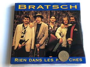 Bratsch – Rien Dans Les Poches / Network Medien Audio CD 1988 / 29.667