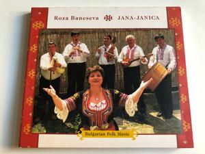 Roza Bancseva, Jana-Janica - Bulgarian Folk Music / Fonó Records Audio CD 2000 / FA-083-2