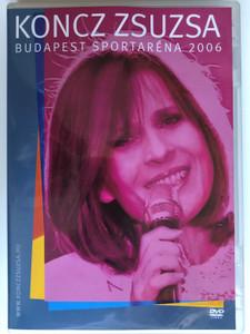 Koncz Zsuzsa - Budapest Sportaréna 2006 DVD / Directed by Kőrösi András / Hungarian pop singer concert / Hungaroton / Extra: Portréfilm (5991817123653)
