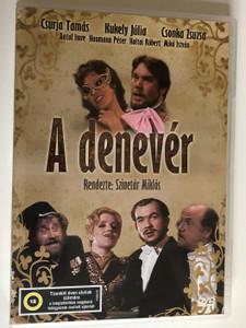 A denevér DVD Die Fledermaus operetta / Directed by Szinetár Miklós / Starring: Csurja Tamás, Kukely Júlia, Csonka Zsuzsa (5996357343547)