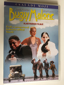 Bugsy Malone (1976) DVD / Directed by Alan Parker / Starring: Jodie Foster, Scott Baio, John Cassisi, Martin Lev (5999546330045)