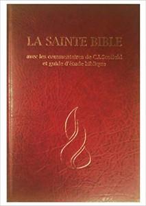 French Scofield Study Bible / La Sainte Bible avec les commentaires de C.I.Sc...