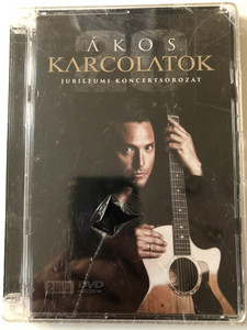 Ákos – Karcolatok 20 - Jubileumi Koncertsorozat / FalconMedia 2x DVD CD 2014 / 5998638314352