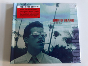 Boris Blank – Electrified / The Limited Edition, Material from over five decades, including bonus DVD with 12 videos, 48pp booklet with exclusive insight into the universe of Boris Blank / Polydor 2x Audio CD + DVD CD 2014 / 4708178