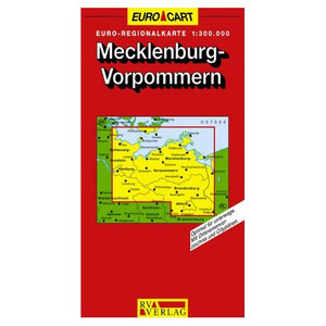 Mecklenburg Vorpommern 1 : 300 000. RV Laenderkarten / Regionalkarten 02.