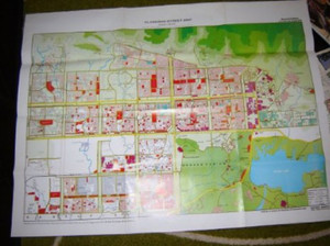 Islamabad Street Map / Scale 1:18,000 / Full Color printed in Pakistan [Map]
