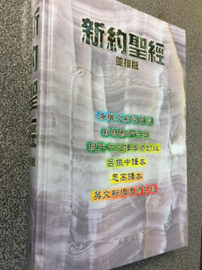 Multilingual 6 New Testament Parallel texts: Greek / Chinese Union Version (Shang Ti) / Today's Chinese Version (Shang Ti) / Chinese Lu Chen-Chung Version (Shang Ti) / Chinese Studium Biblicum Version (Catholic) / English New Revised Standard Version