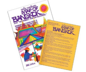 Nancy Chandler's Map of Bangkok, 25th Edition; Nima Chandler; Nancy Chandler