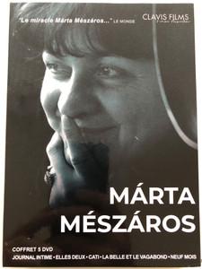 Márta Mészáros 5 DVD Journal Intime (1984), Elles Deux (1977), Cati (1968), La belle et le vagabond (1970), Neuf Mois (1976) / Clavis Films EDV 1770 / 5 hungarian films (3700246909569)