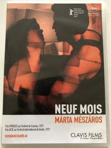 Neuf Mois DVD 1976 Kilenc hónap / Directed by Márta Mészáros / Starring: Lili Monori, Jan Nowicki, Gyula Szersén (3700246909279)