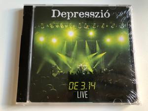 Depresszió – DE 3.14 LIVE / EDGE Records DVD + Audio CD 2008 / EDGECDVD085