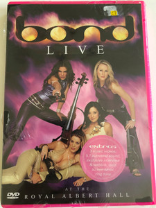 Bond: Live at the Royal Albert Hall DVD 2001 / Directed by Mike Mansfield / Classical Crossover Concert / Decca Music (044007414590)